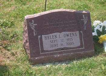 Slant Headstones And Grave Markers Evans Monument Company