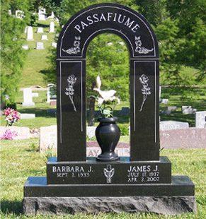 Memorials & Cemetery Monument Designs - Evans Monument Company