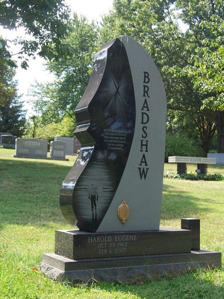 Vertical Upright Headstones Amp Estate Monuments Evans