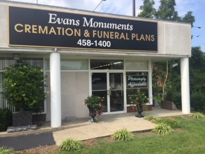 Evans Monuments and Creamations